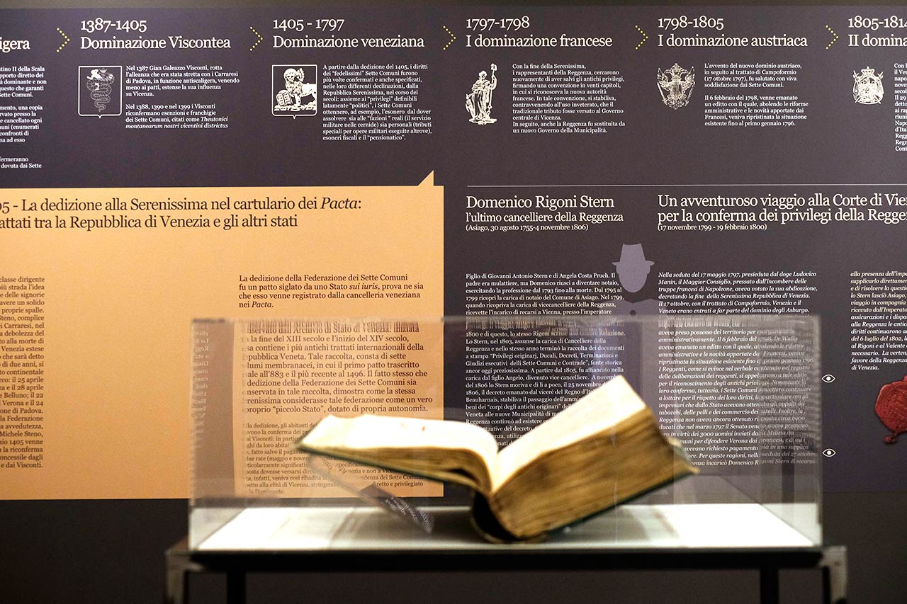 L'Archivio Svelato - mostra Archivio Storico della Reggenza Sette Comuni e Comune di Asiago